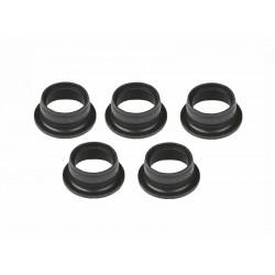 Těsnící kroužky pro motory .12 & .15 černé (5 ks.)