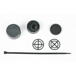 Ins-box Mielke černý včetně filtru, krátká verze