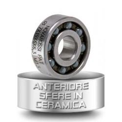 Přední keramické kuličkové ložisko - 7x18x5,3mm - 9 kuliček