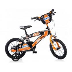 """DINO Bikes - Dětské kolo 14"""" BMX černé"""