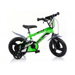 """DINO Bikes - Dětské kolo 12"""" zelené"""