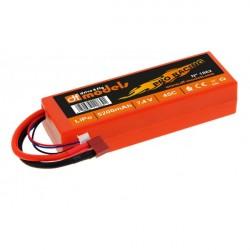 LIPO AKKU 7,4 V / 5200 / 45C PRO RACING T-DEAN