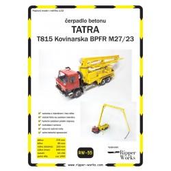 Tatra 815 Kovinarska BPFR M27/23