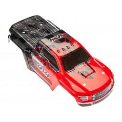 Arrma AR402256 Karosérie červená: Granite 4x4 Mega