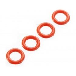 Arrma AR716011 O-kroužek P-5 4.5x1.5mm červený (4)