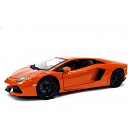 Bburago Plus Lamborghini Aventador LP 700-4 1:18 oranžová...