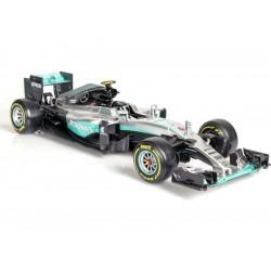 Bburago Plus Mercedes AMG Petronas W07 1:18 Rosberg