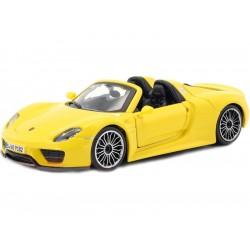 Bburago Plus Porsche 918 Spyder 1:24 žlutá