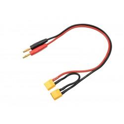 Nabíjecí kabel - XT60 sériový 14AWG 30cm