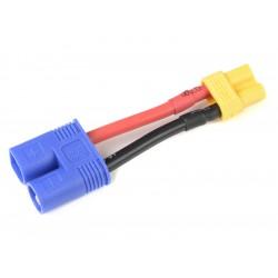 Konverzní kabel EC3 samice - XT-30 samec 14AWG