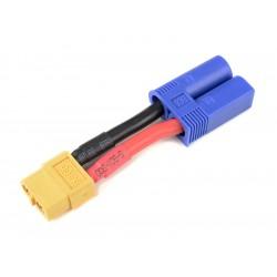 Konverzní kabel EC5 samice - XT-60 samec 12AWG