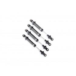 Traxxas tlumič GTS stříbrný (Long Arm Lift Kit) (4)