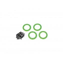 """Traxxas hliníkový Beadlock kroužek 1.9"""" zelený (4)"""