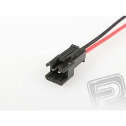PC konektor černý - samec (12cm)