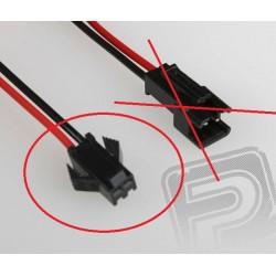 PC konektor černý - samice (12cm)