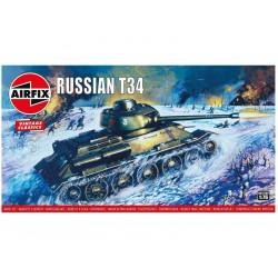Airfix T34 střední tank (1:76) (Vintage)