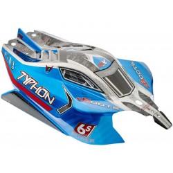 Arrma AR406118 Karosérie modrá: Typhon 6S BLX