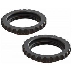 Arrma AR330514 Stavěcí matice tlumiče hliník, černá (2): 6S