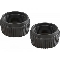 Arrma AR330513 Krytka tlumiče spodní hliníková černá (2)