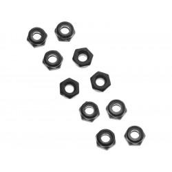 Axial AXA1052 Matice samojistná M3 černá (10)