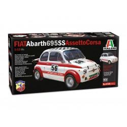 Italeri Fiat Abarth 695SS/Assetto Corsa (1:12)