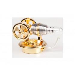 Krick Motor Stirling Twin zlatý smontovaný