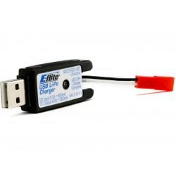 Nabíječ USB 1-článek LiPol 500mA JST
