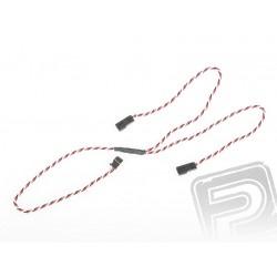 """4704 J """"Y""""-kabel Futaba kroucený silný dlouhý 600mm (PVC)"""