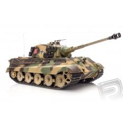 RC tank 1:16 German King Tiger (věž Henschel) kouř. a...