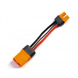 Spektrum konverzní kabel IC5 přístroj - IC3 baterie 10cm...