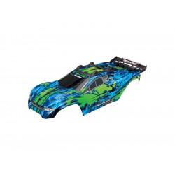 Traxxas karosérie zelená: Rustler 4x4 VXL
