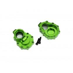 Traxxas vnitřní díl zadní nápravy hliníkový zelený (2):...