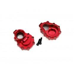 Traxxas vnitřní díl zadní nápravy hliníkový červený (2):...