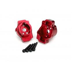 Traxxas lože zadní portálové nápravy hliníkové červené...