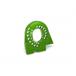Traxxas lože motoru hliníkové zelené: TRX-4