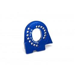 Traxxas lože motoru hliníkové modré: TRX-4