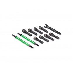 Traxxas ojnička řízení hliníková zelená 144mm (2)
