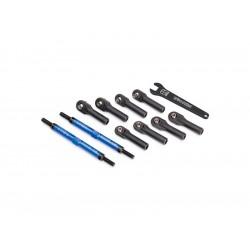 Traxxas ojnička řízení hliníková modrá 144mm (2)