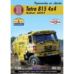 Tatra 815 4x4 Dakar 2007