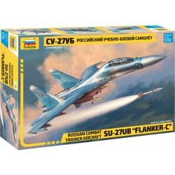 Zvezda Sukhoi SU-27 UB Flanker-C (1:72)