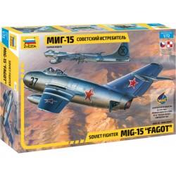 Zvezda MiG-15 Fagot (1:72)