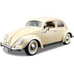 Bburago Volkswagen Käfer-Beetle 1955 1:18 krémová