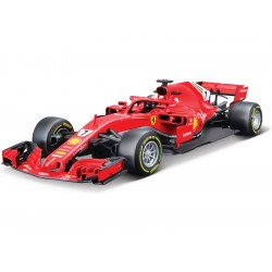 Bburago Ferrari SF71-H 1:18 7 Raikkonen