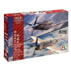 Italeri War Thunder P-47 N a P-51 D (1:72)