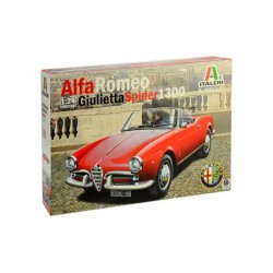 Italeri Alfa Romeo Giulietta Spider 1300 (1:24)