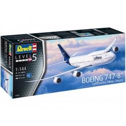 Revell Boeing 747-8 Lufthansa New Livery (1:144)