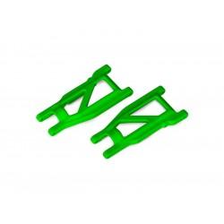 Traxxas ramena zavěšení HD zelené (pár)