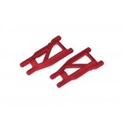 Traxxas ramena zavěšení HD červené (pár)