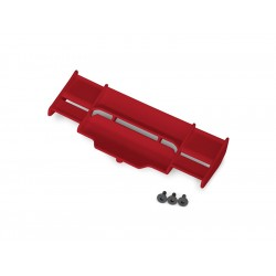 Traxxas křídlo červené: Rustler 4X4