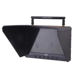 """FPV - 7"""" HD monitor (dlouhý dosah) + extra baterie"""